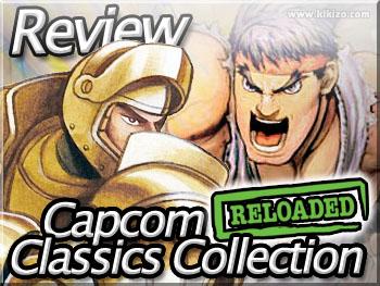 capcom classics collection reloaded psp review
