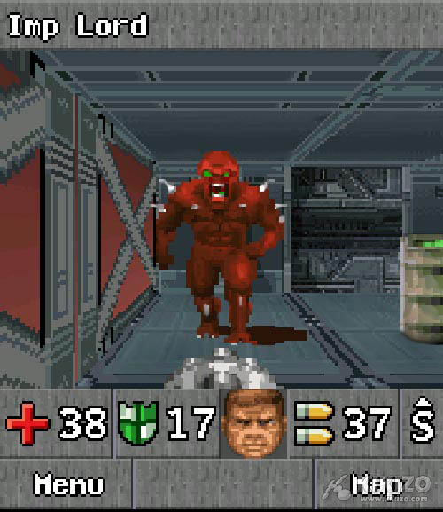 Kikizo | News: Doom RPG Puts Hell in Your Pocket