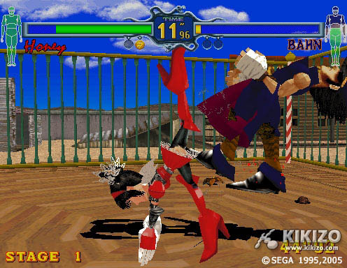 Kikizo | PS2 Review: Fighting Vipers - Sega Ages 2500