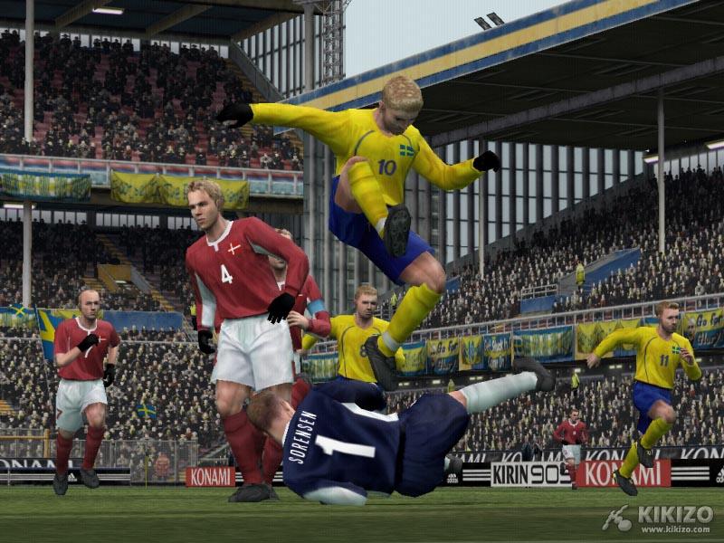 Kikizo | News: Pro Evo Soccer 4: First Video
