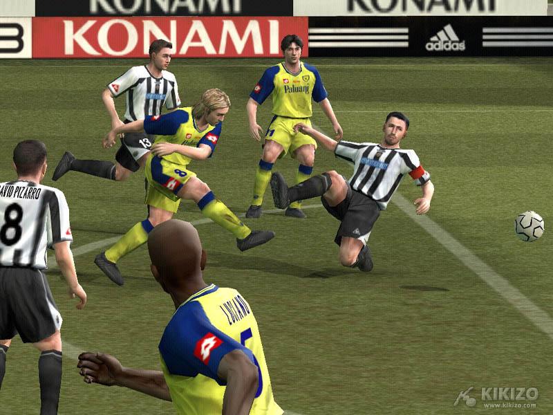 Kikizo | News: Pro Evolution Soccer 4 Hands-On