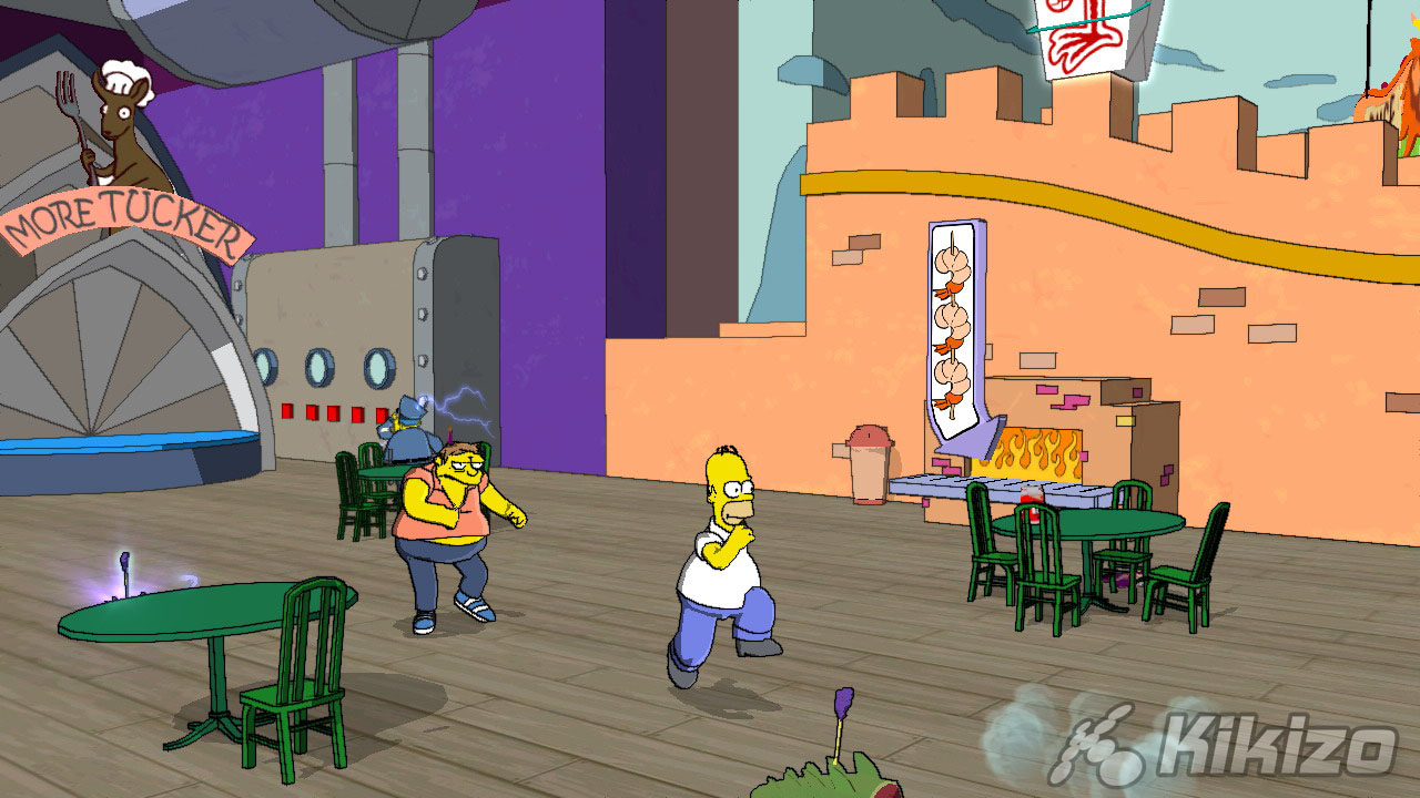 The Simpson Game Xbox Cheats