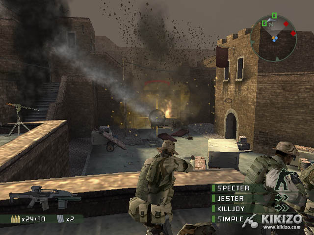 Kikizo | News: E3: SOCOM 3 Gets Big for PlayStation 2 - New