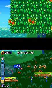 Video Games Daily | Nintendo DS Review: Sonic Rush