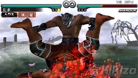 Kikizo Psp Review Tekken Dark Resurrection