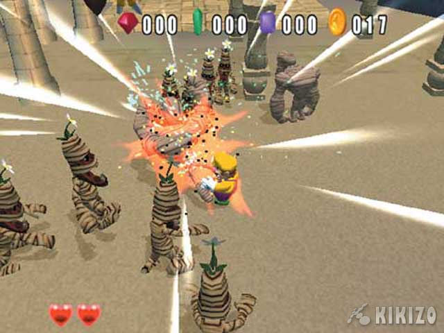 Kikizo Gamecube Review Wario World