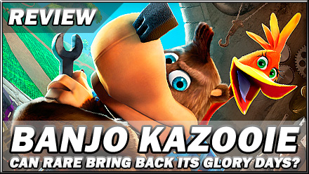 Kikizo | Review: Banjo Kazooie: Nuts and Bolts