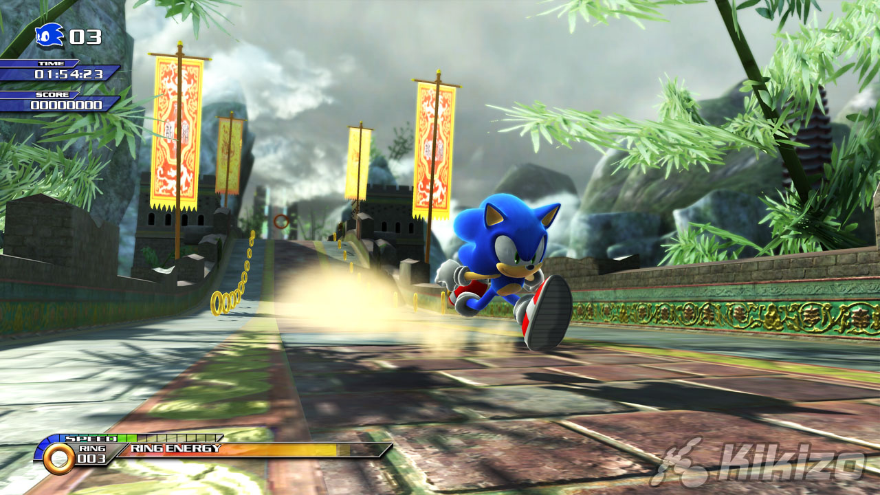 sonic the hedgehog 2006 gameplay